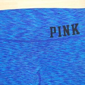 Pink Victoria's Secret Yoga Crops